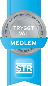 Vi är medlemmar i STR - Sveriges Trafikutbildares Riksförbund